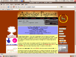 Axbridge Pageant screenshot